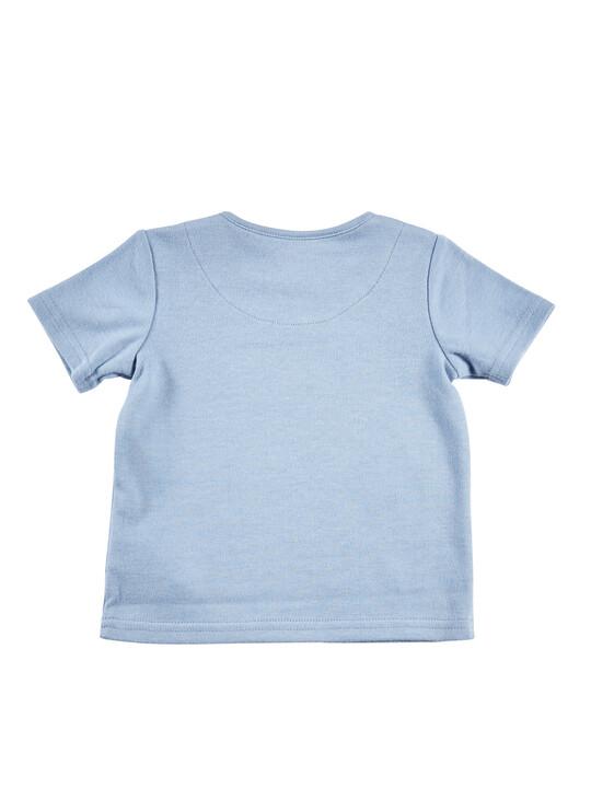 Blue Slogan T-Shirt image number 2