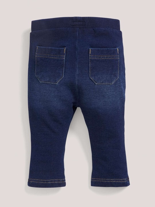 Dark Wash Jersey Leggings image number 3
