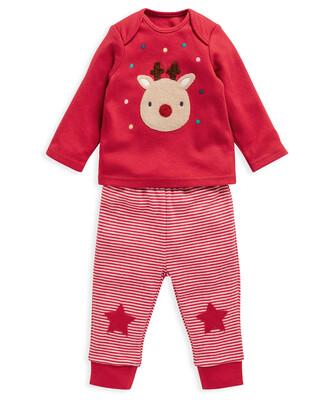 Reindeer Top & Legging Pyjamas