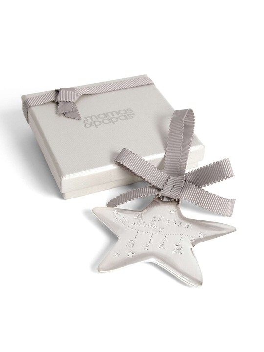 Welcome to the World - Silver Hanging Star image number 8
