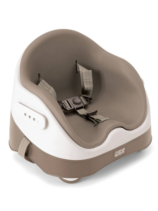 Baby Bud Booster Seat for Dining Table with Detachable Tray - Putty image number 3
