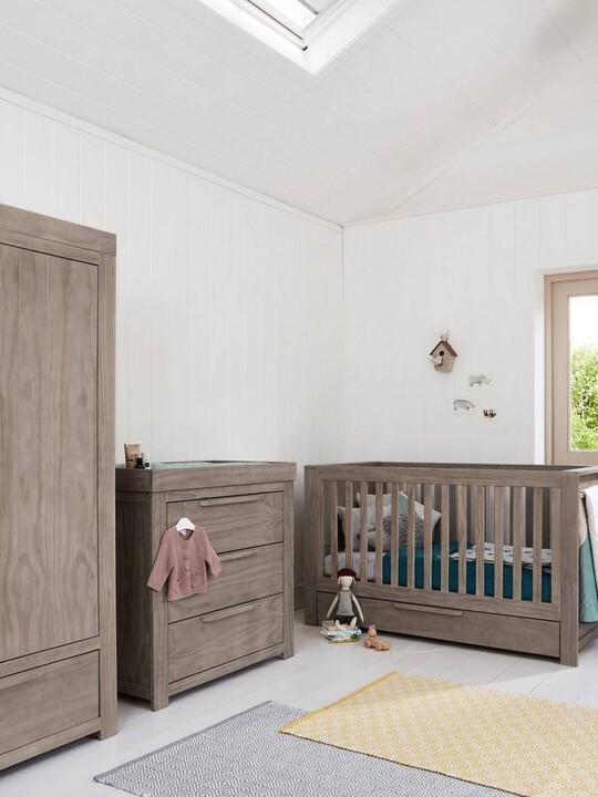 Franklin 3 Door Dresser & Changing Unit - Grey Wash image number 7