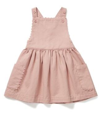 Twill Pinny Dress