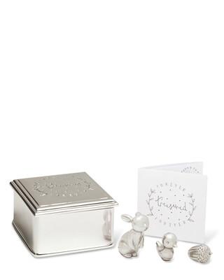 Forever Treasured Trinket Set - Silver
