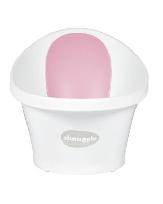 Shnuggle Bath - White with Pink