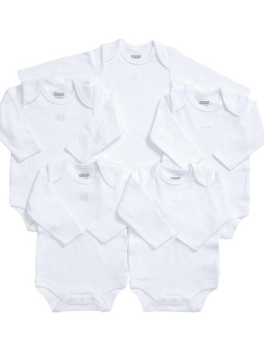 Long Sleeved Bodysuits (Set of 5) image number 7