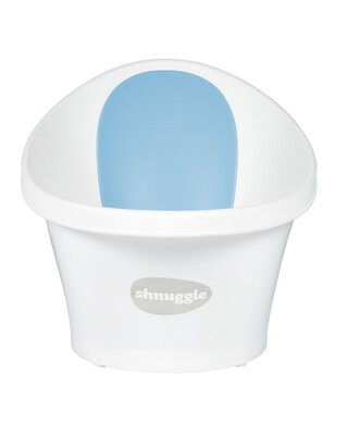 Shnuggle Bath - White with Blue