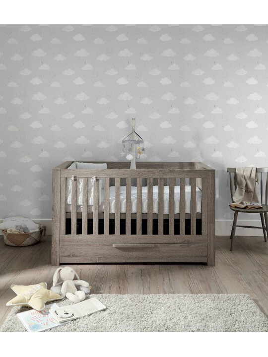Franklin Convertible Cot & Toddler Bed 3 in 1 - Grey Wash image number 4