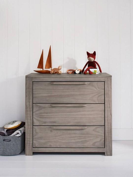 Franklin 3 Door Dresser & Changing Unit - Grey Wash image number 5
