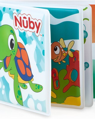 Nuby Baby's Bath Book