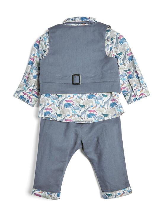 4 Piece Liberty Shirt & Waistcoat Set image number 2