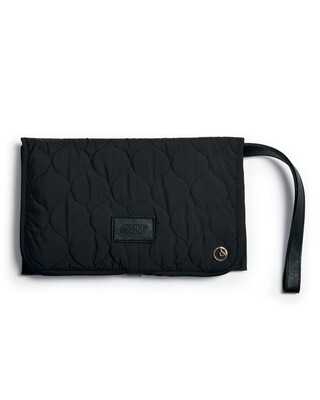 Clutch Bag - Black Quilted