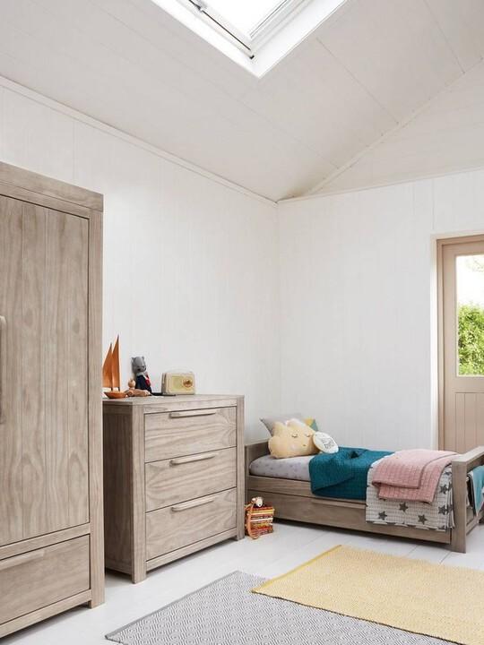 Franklin 3 Door Dresser & Changing Unit - Grey Wash image number 6