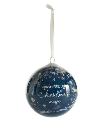 Into Imagination Christmas Bauble - Purple
