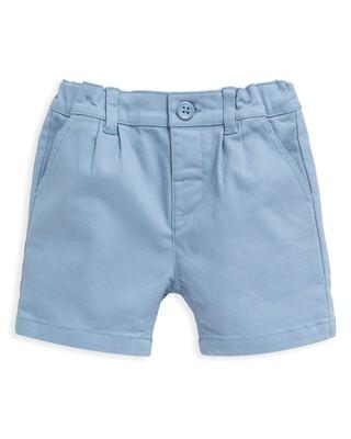 Woven Blue Shorts