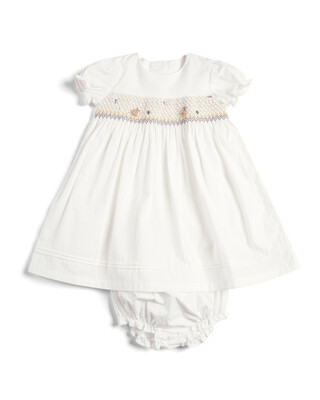 Smock Dress and Knickers