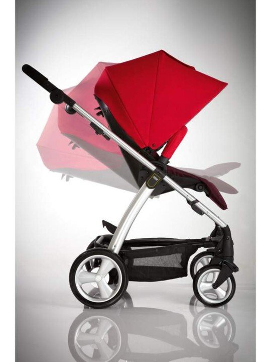 Sola 2 Pushchair - Bright Red image number 3