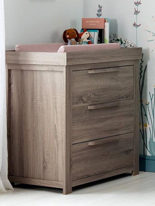 Franklin 3 Door Dresser & Changing Unit - Grey Wash image number 8