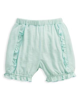 Frill Shorts Blue