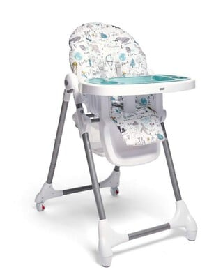 Snax Highchair - Happy Planet
