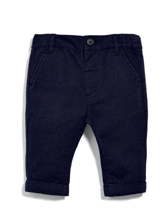 Navy Chinos image number 1