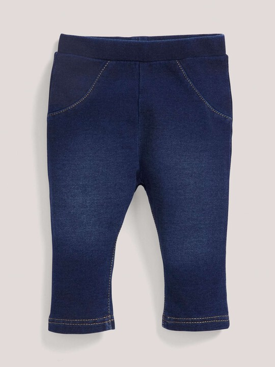 Dark Wash Jersey Leggings image number 2