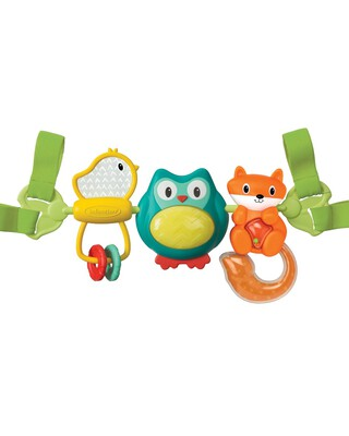 Infantino - Spin & Sing Travel Bar Activity Toy
