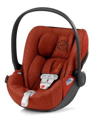 Cybex Cloud Z i-Size Baby Car Seat incl. SensorSafe - Autumn Gold