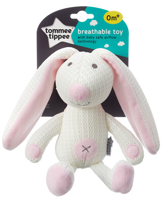 Tommee Tippee Breathable Toy, Betty The Bunny-Pink