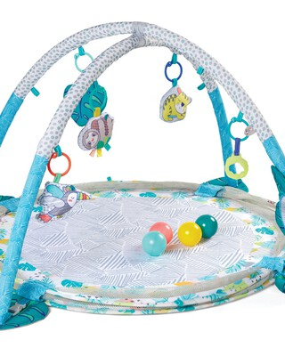 Infantino - 3-In-1 Jumbo Activity Gym & Ball Pit