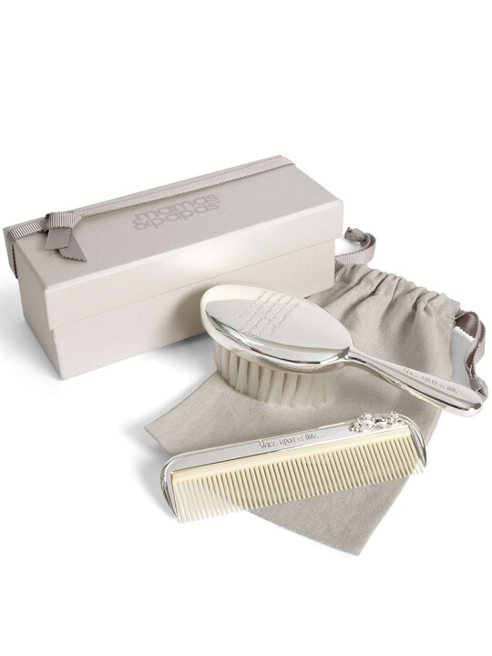 Once Upon a Time - Silver Brush & Comb Set image number 1