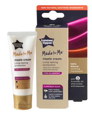 Tommee Tippee Made for Me 100% Natural Hypoallergenic Nipple Cream 40ml