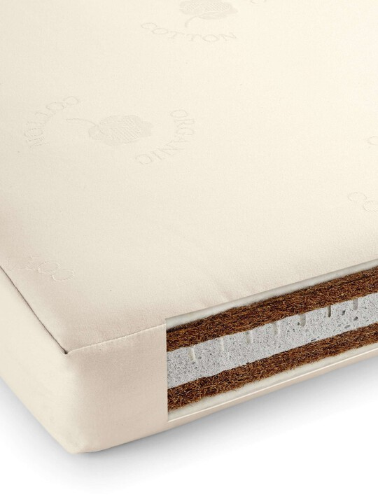 All Natural Cotbed Mattress image number 1