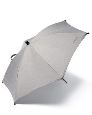 Essentials Parasol - Grey Marl